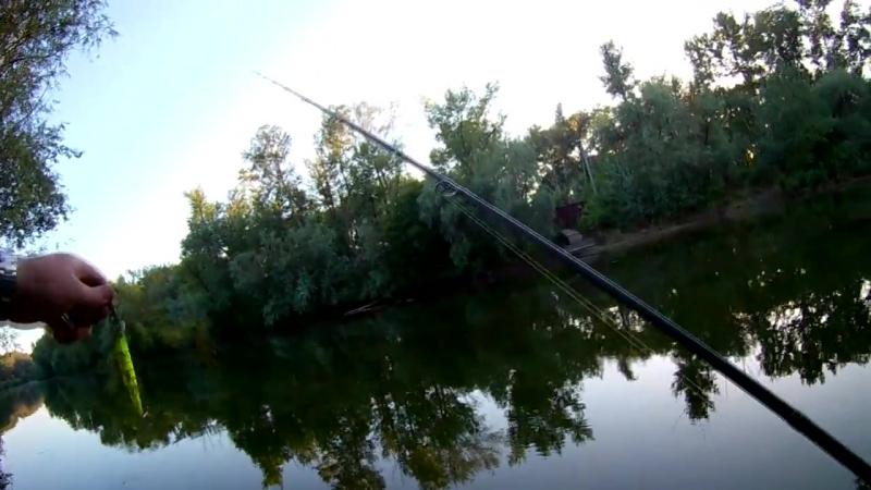 Тест на реке кастингового комплекта с AliExpress. Спиннинг Tsurinoya Legend и му