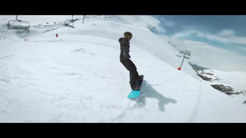 Парень сделал эпичнейшее видео со сноубордингом с самыми сложными «переходами», которые он мог придумать » Freewka.com - Смотреть онлайн в хорощем качестве