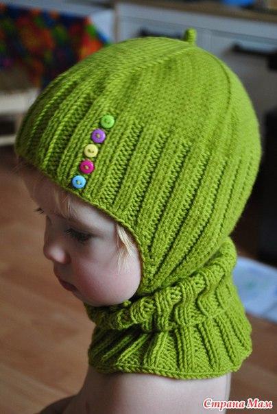 Монпансье комплект шапочка манишка варежки. Вязание онлайн… (9 фото)