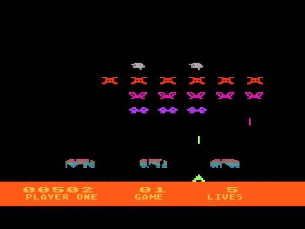 Atari 5200 Longplay [001] Space Invaders