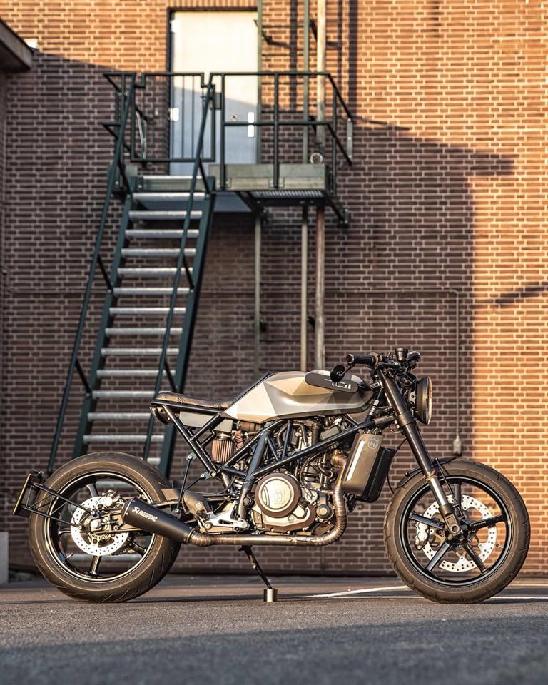 Ironwood Custom Motorcycles: кастом Husqvarna Vitpilen 701