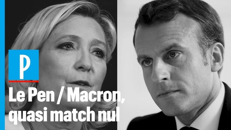 Le Pen - Macron : « Un quasi match nul »