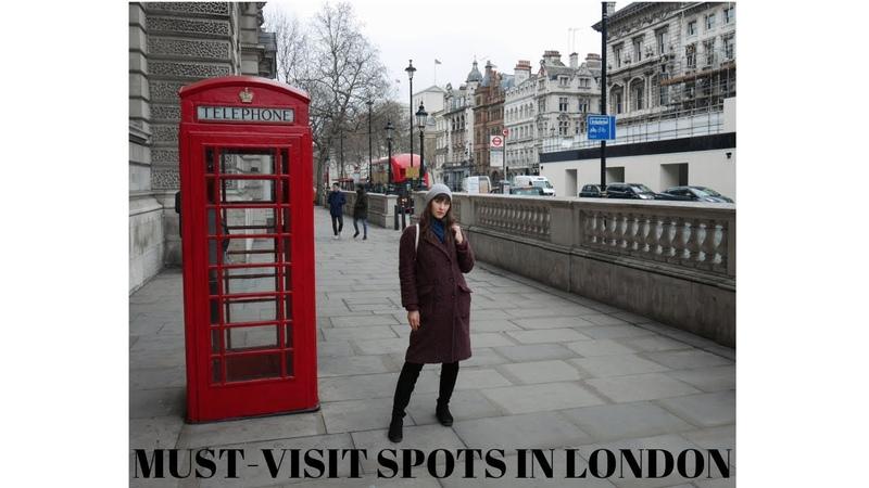 Touristic must visit spots of London VLOG