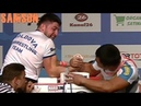 ARMWRESTLING | WORLD CHAMPIONSHIP 2018 | 75 kg RIGHT ARM | PART 2