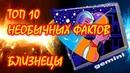 ТОП 10 необычных фактов о Знаке Зодиака Близнецы