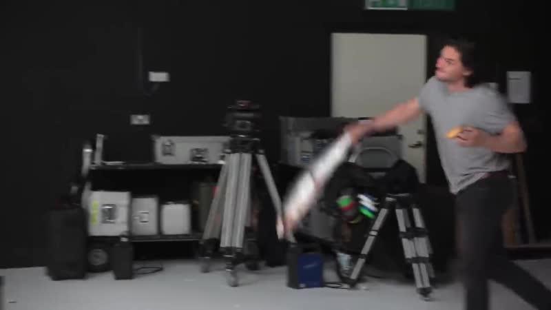 Кастинг Кита Харингтона на роль в сериале без названия.mp4