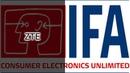 IFA 2018. Стенд ZTE - Axon 9 Pro и Blade V9