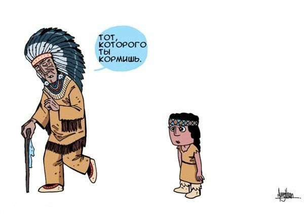 Индейская Мудрость - Два Волка S4yaSuYXxRI