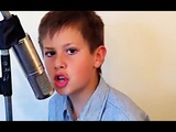 12 year old boy Jared Cardona singing A Thousand Miles Vanessa Carlton cover ( Parke avenue )