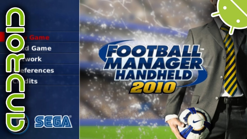 Football Manager Handheld 2010 | NVIDIA SHIELD Android TV | PPSSPP Emulator [1080p] | Sony PSP