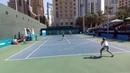 Dubai 100k H Doubles final. Alena Fomina, Valentina Ivakhnenko / Reka Jani, Cornelia Lister 7:5 6:2