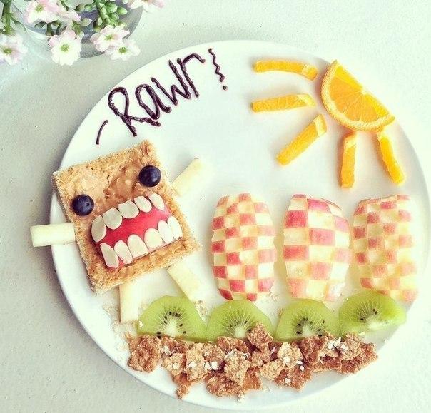 Творчество в еде. (8 фото) - картинка