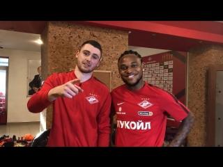 Адриано пообещал футболку болельщице «Спартака»
