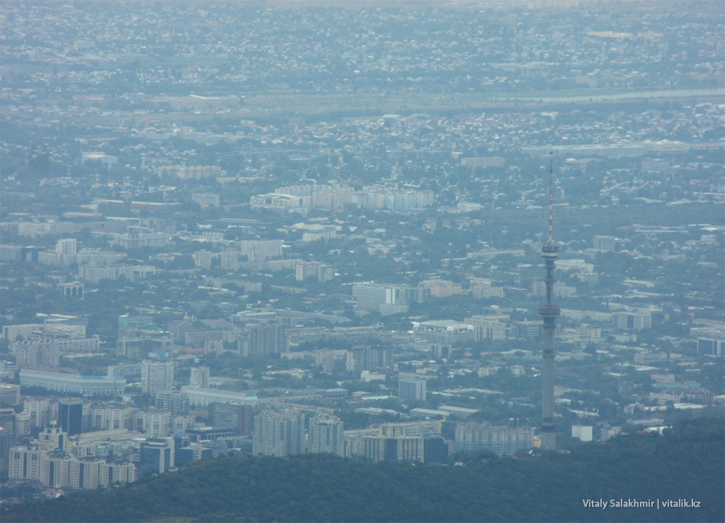 Город после дождя - дорога на Фурмановку