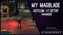 What do I run on Magblade in Asylum 2 Hardmode? Summerset Chapter ESO