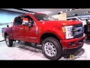 Ford F250 Super Duty Limited 2018 - Exterior and Interior Wakaround - 2018 Detroit Auto Show
