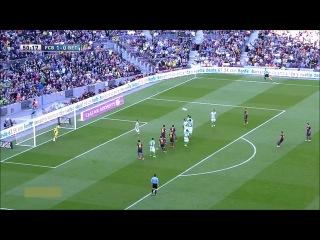 Барселона - Реал Бетис 3-1 (5 апреля 2014 г, Чемпионат Испании)