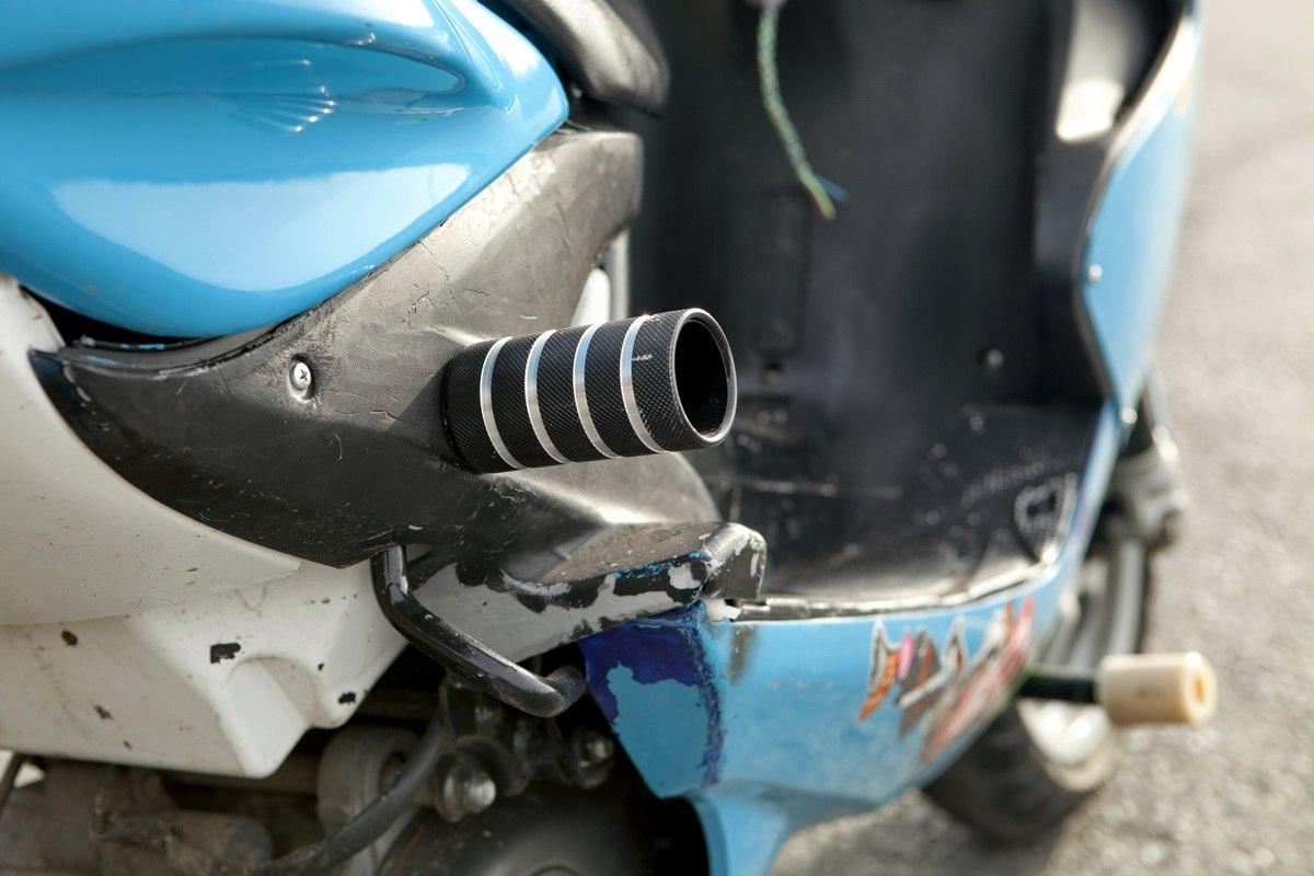 Слайдера на мотоцикл своими руками