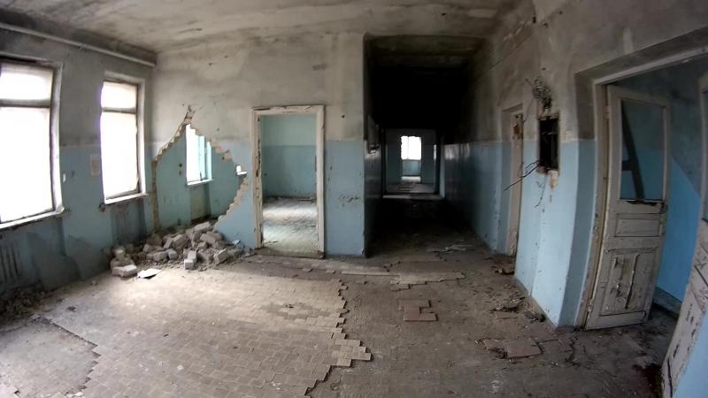 Прогулка по заброшенной больнице