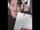 Gikwang's videocall for Shilla Duty Free