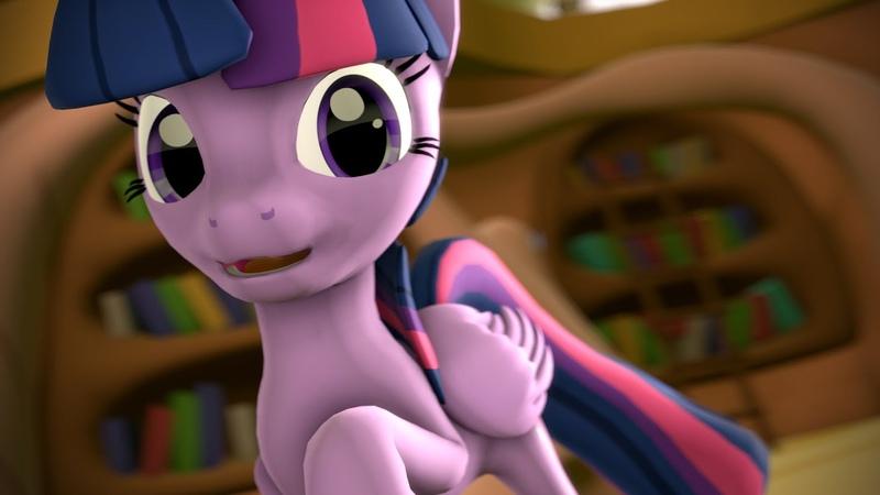 [SFM Short] Hi, Im Twilight Sparkle!