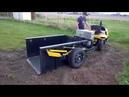 Homemade Cub Cadet dump truck