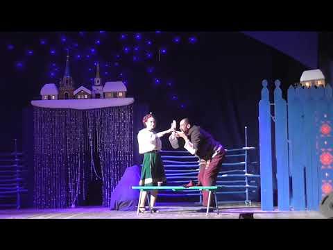 Театральный фестиваль имени А. Д. Папанова в Вязьме Ночь перед Рождеством Черт у Солохи
