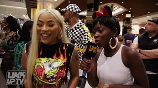 Stefflon Don - Oochy Wally Freestyle (Behind The Scenes) @stefflondon | Link Up TV