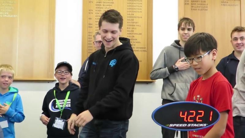 Rubik's Cube World Record 4 22s by Feliks Zemdegs