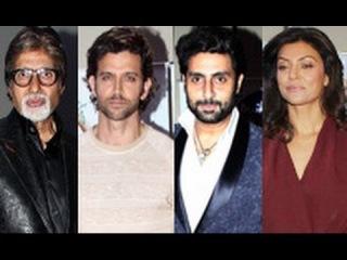 Big B, Hrithik, Sushmita at Vashu Bhagnani's Silver Jubilee Bash | Abhishek, Arshad, Tamanna