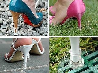 А вы знаете, что появились чудесные 'колпачки' на каблуки? Во время пр