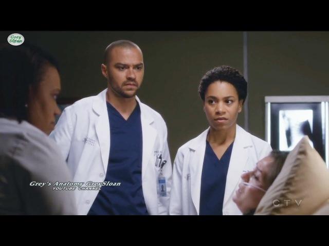 Grey's Anatomy 13x23 Jackson Maggie Bailey Realized Steph is in Danger Season 13 Episode 23