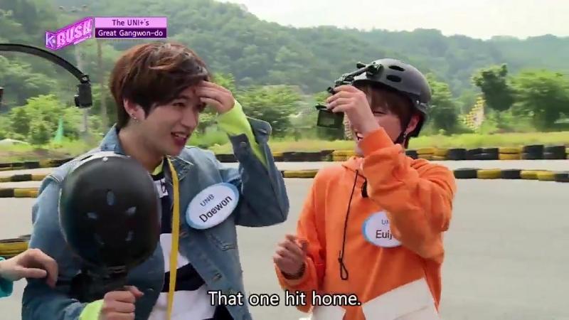 [180614] UNB Twitter @KBSWorldTV GREAT GANGWON DO with UNB