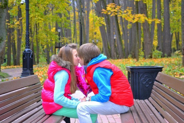 кристи и даня фото целуются