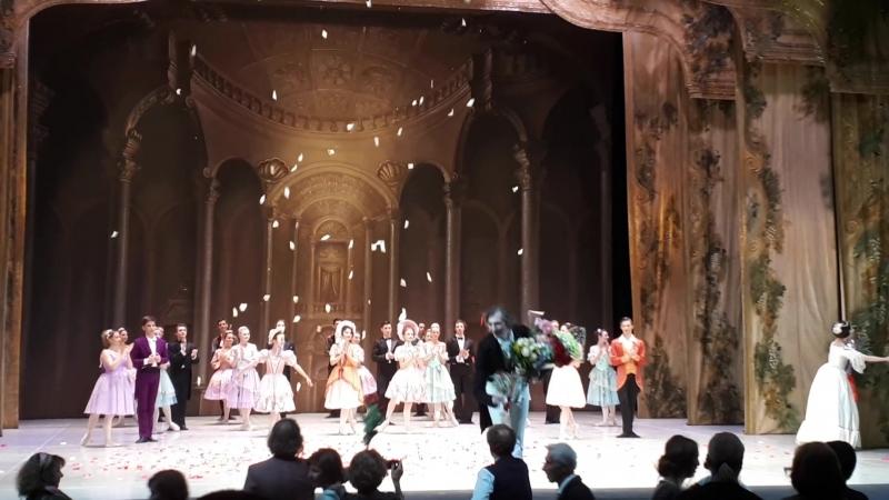 А.Николаева и С.Сосницкий. Спектакль Танцы короля. 09.10.18.