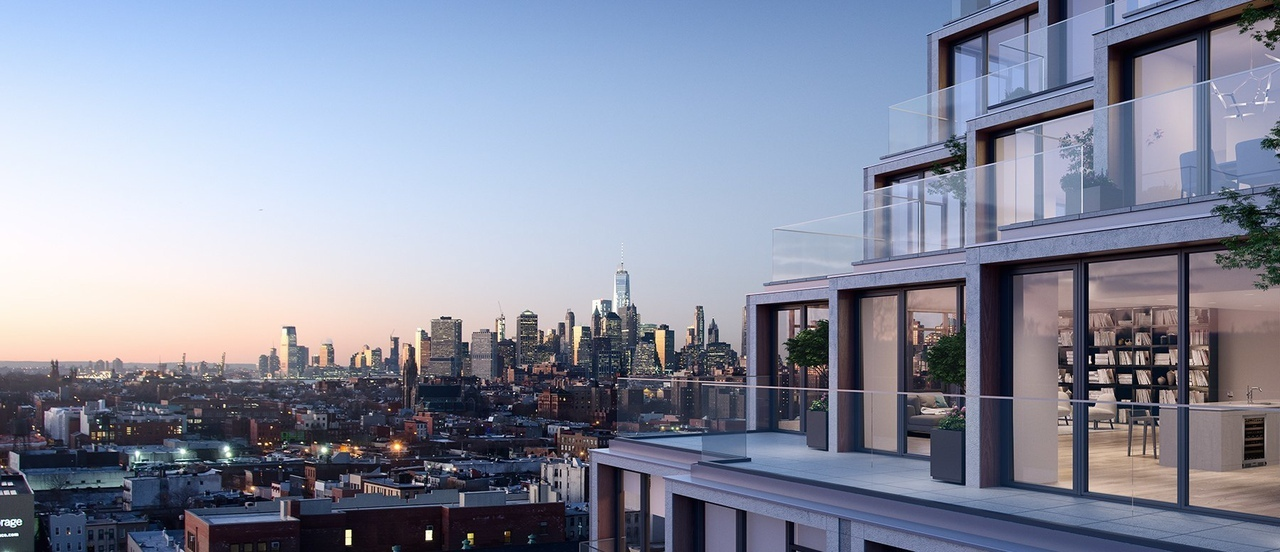 ODA architecture plans staggered '251 first' residences for brooklyn, new york
