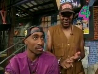 Tupac Addresses Hughes Brothers [Yo MTV Raps 1993]