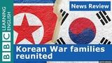 Korean families reunited BBC News Review