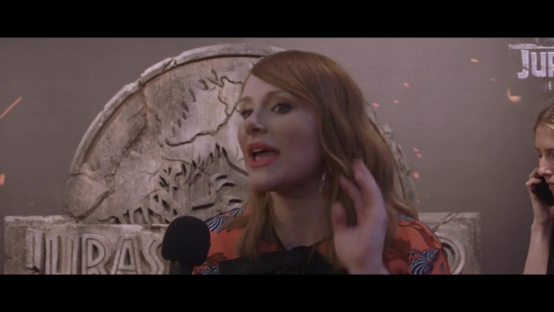 Bryce Dallas Howard Jurassic World Fallen Kingdom Spain Premiere Interview