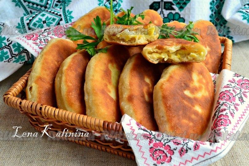 Жареные пироги рецепт фото