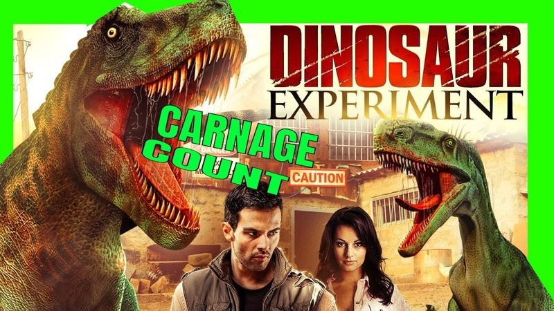 The Dinosaur Experiment AKA Raptor Ranch (2012) Carnage Count