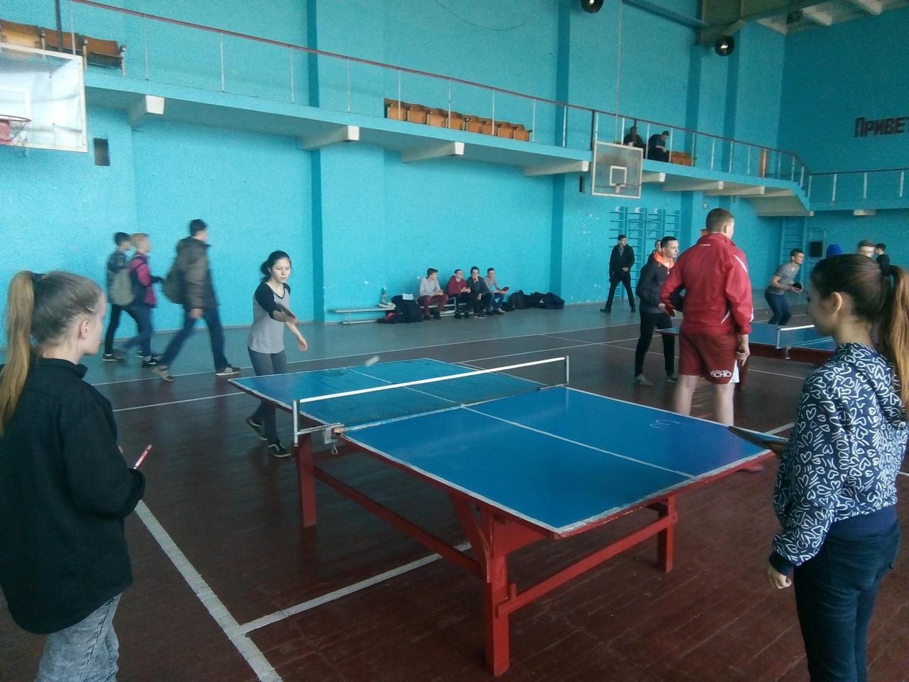 В Донецке прошли соревнования по настольному теннису среди образовательных организаций среднего профессионального образования