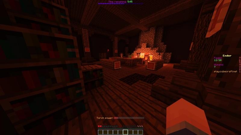 Minecraft Hellowen Ender mode (Страшна вырубай)