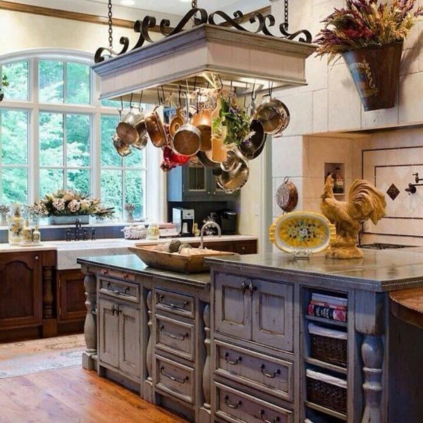 Кантри кухонный декор