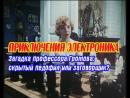 Приключения Электроника Профессор педофил или заговорщик