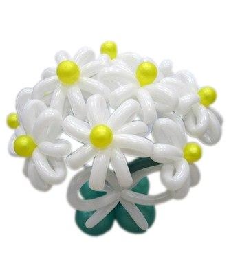 №335. цветы из шаров «Ромашковое поле»
