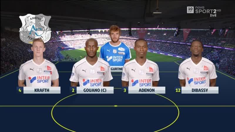 ПСЖ - Амьен 5-0 Обзор матча 20 10 18