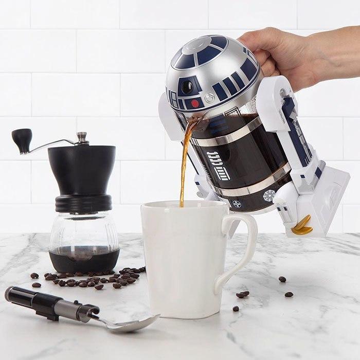 Пресс для кофе в виде R2-D2 -