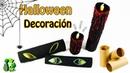 Manualidades con tubos de papel higiénico para Halloween Reciclaje Ecobrisa