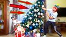 ОДНИ ДОМА не поделили ЁЛКУ Очень МНОГО игрушек Украшаем дом к Новому году